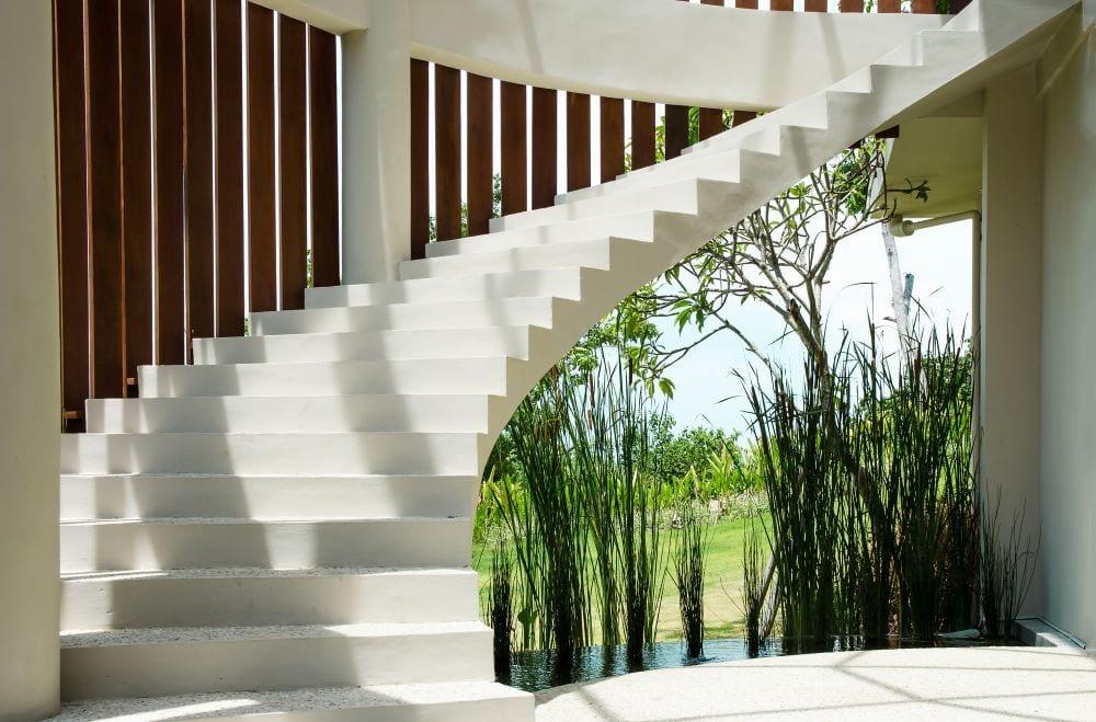 Modern luxury staircase
