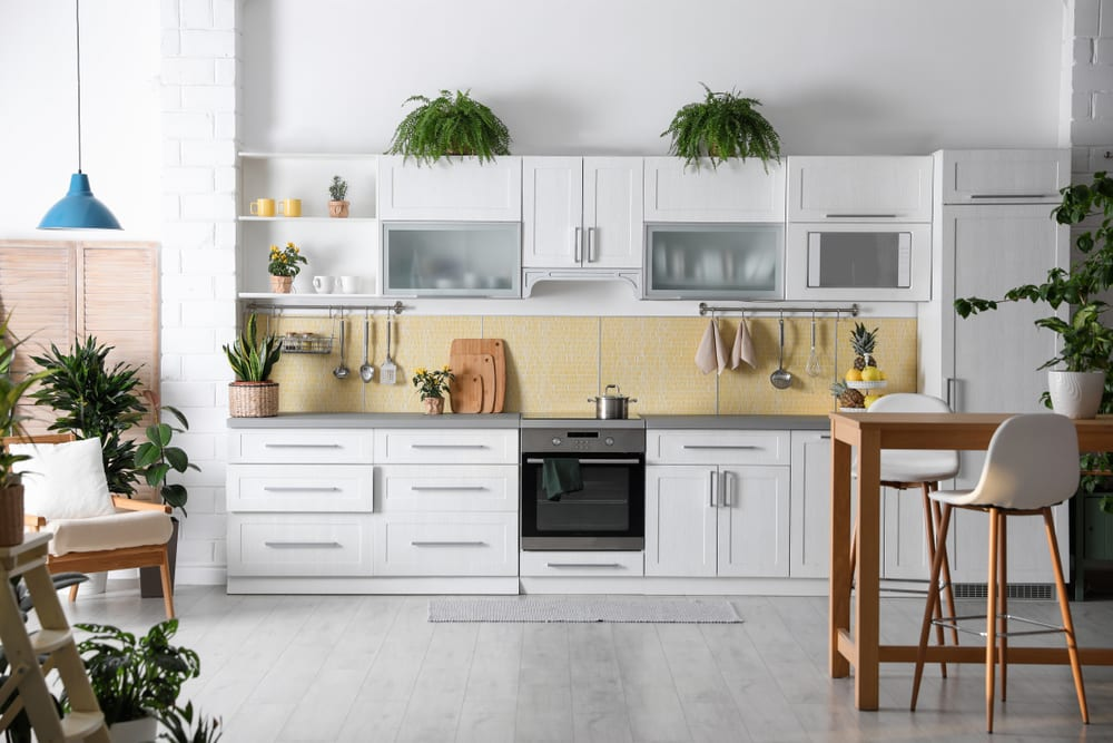 Tropical kitchen decor