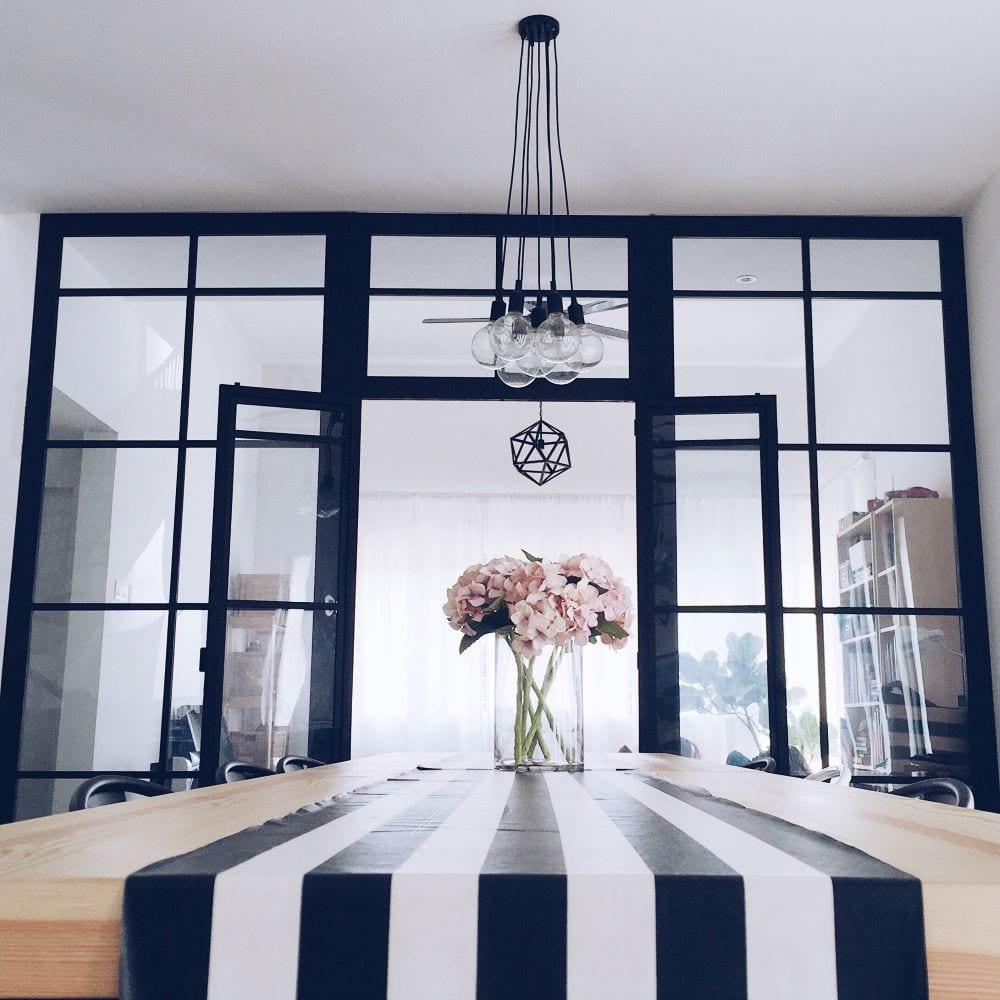 Black and white design that creates unity