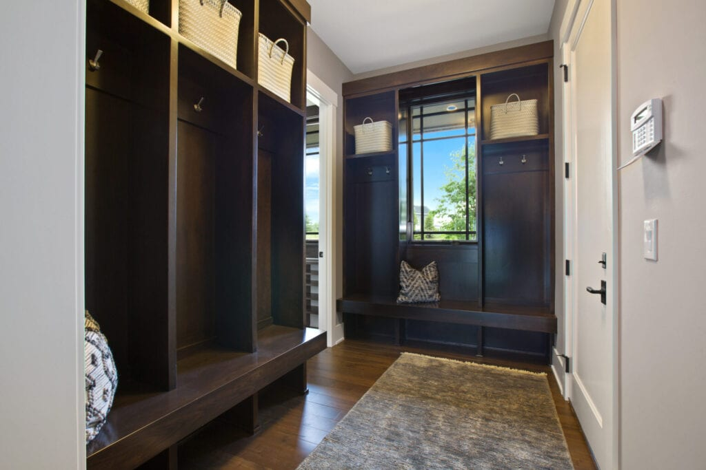 Spacious entryway with intricate detail and design