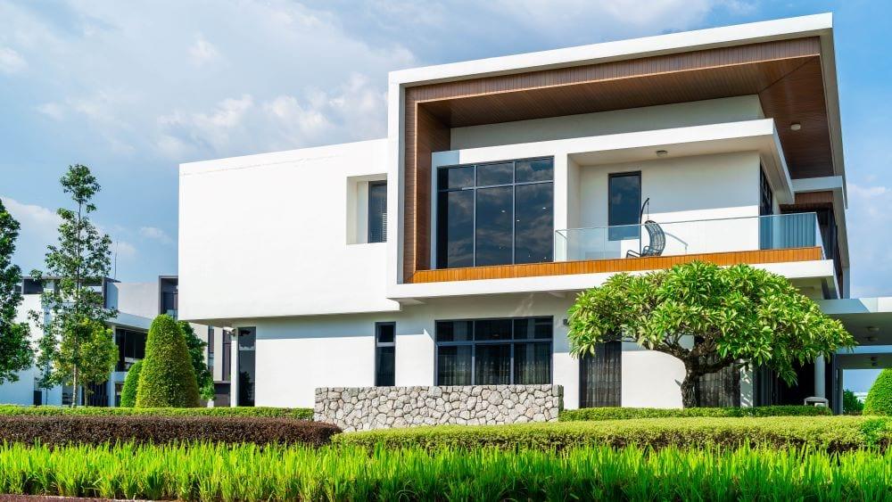 Modern international style house