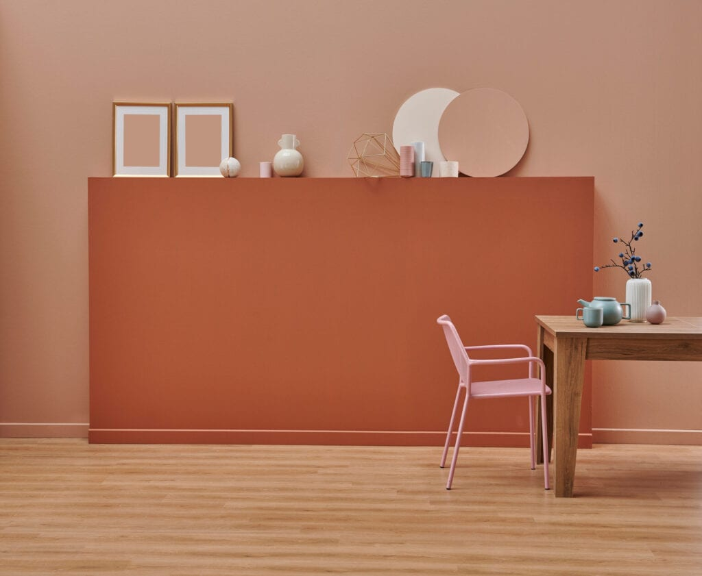 rumba orange behr painting