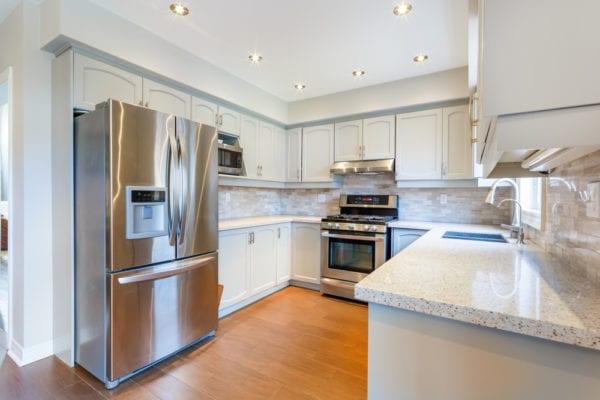 Kitchen interior in a luxury home