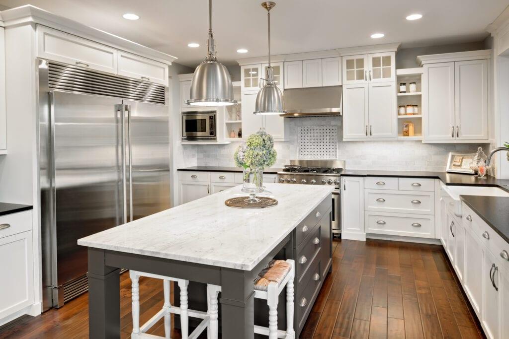 Kitchen cabinets hero image, luxury kitchen