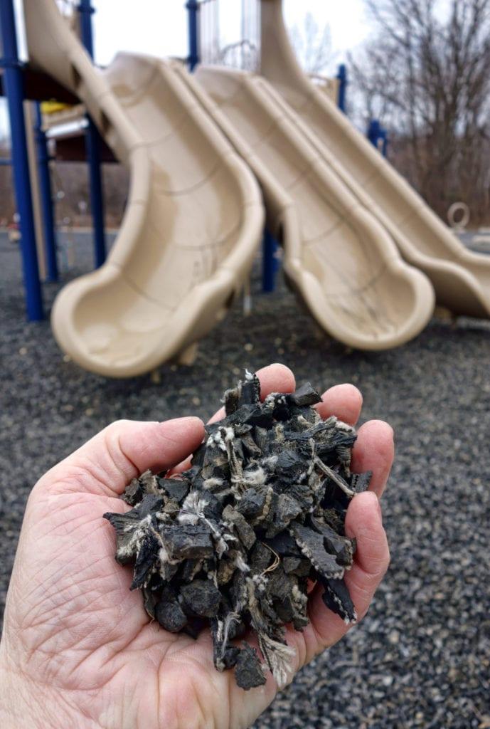 rubber gravel